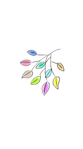 カラフル植物