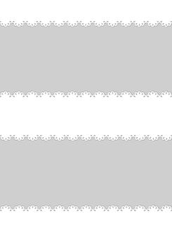 白と灰のレース模様