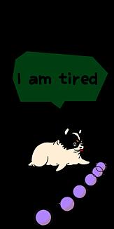 ぽっちゃり犬、 疲れたチワワ