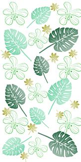 緑 葉 自然 ケースフレーム タイプB