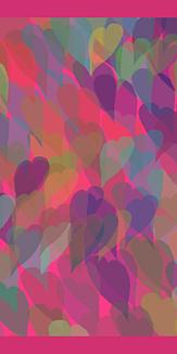 ハートパターン/ケースタイプ *ピンク