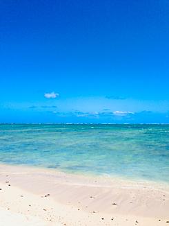 ハワイ☆青空と青い海