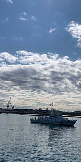 清水港から土肥港へ