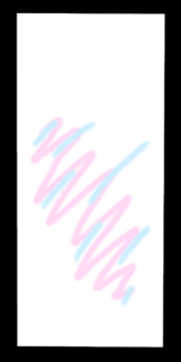 らくがき ホワイトピンクブルー