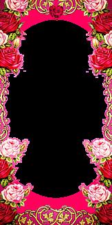 お嬢様御用達 薔薇フレーム