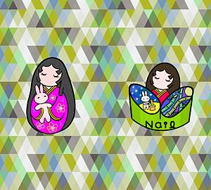 ネイルアート かぐや姫