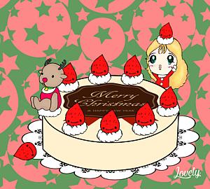 クリスマスケーキ オシャレ手帳