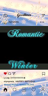 ロマンティック インスタ風フレーム