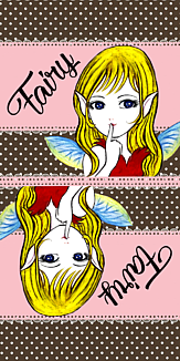 妖精の女の子 ツインタイプ (オシャレ)