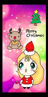 ロマンティック クリスマスケース