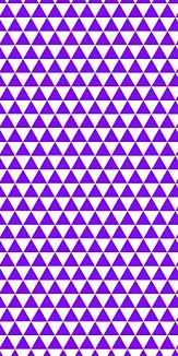 小紋 山格子 《紫》