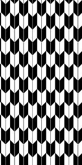 小紋 矢絣 《黒》