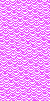 小紋 青海波 《紫》Ⅰ