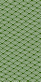 小紋 青海波 《緑》Ⅰ