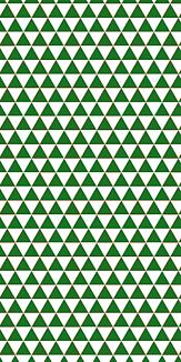 小紋 山格子 《緑》