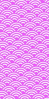 小紋 青海波 《紫》Ⅱ