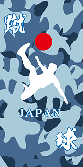 サッカー日本代表イメージのスマホケース