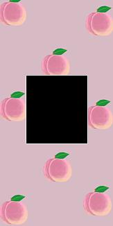 peach ピンクフレーム