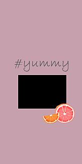 フルーツ2 くすみピンク