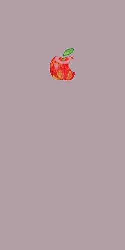 りんご くすみピンク