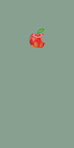 りんご レトログリーン