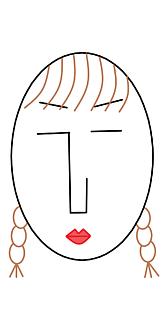 the face様 (顔)