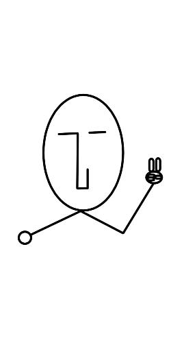 the face ピース(顔)