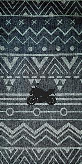 幾何学模様★バイク