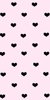 ハート☆ピンク×ブラック