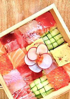 モザイクチラシ寿司
