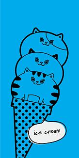 ねこアイスクリーム