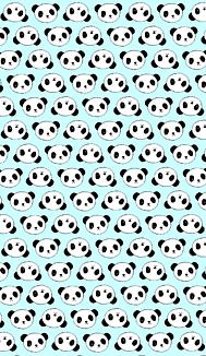 パンダ(みずいろ)