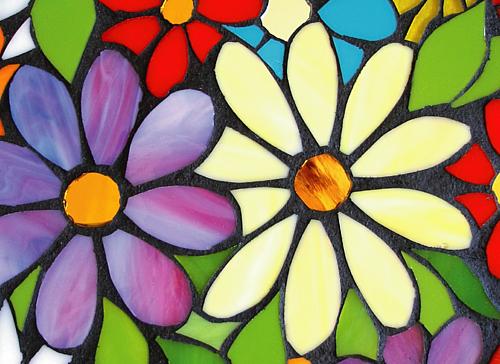 ステンドグラス flower