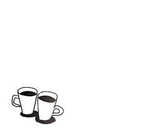コーヒー手帳フレームケース