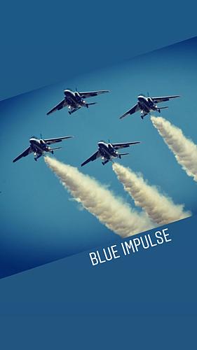 ブルーインパルス 1 飛行機
