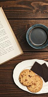 カフェ~コーヒー&本&お菓子