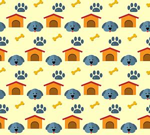 いっぱいの犬&ハウス&肉球&骨5