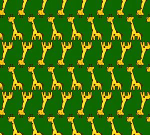 キリン柄~可愛いキリンがいっぱい2