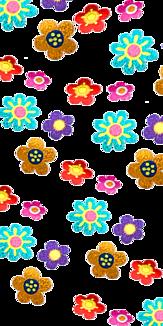 キラキラお花ケース