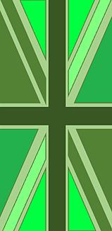 ユニオンジャック(グリーン)
