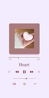 Heart(purple)