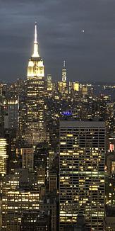 New Yorkの夜景