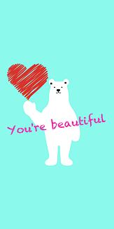 You're beautiful -L blue-