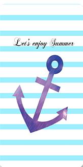 Let's enjoy summer