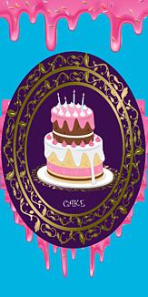ドロドロケーキ