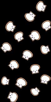 食パン( ー3ー)b⑤