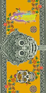 南米デザイン ビンテージカラー