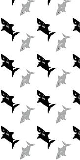 ブラックなサメ