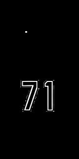 背番号71