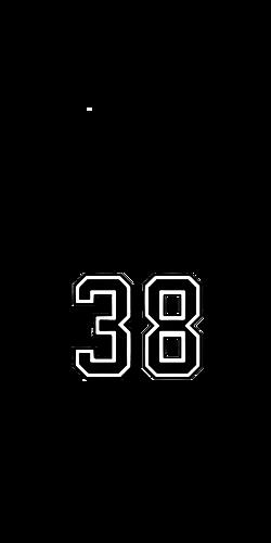 背番号38